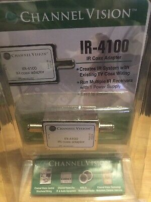 Channel Vision IR-4100 IR Coax Adapter NEW