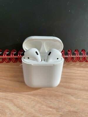 Apple AirPods 1st Generation In-Ear Headsets with Charging Case - White