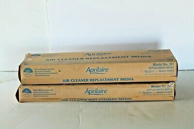 Aprilaire 201 Air Filter Air Purifier Models 2200 and 2250 MERV 10  Pack of 2