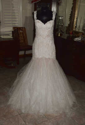 WATTERS WTOO GISELLE Bridal Gown Wedding Dress Size 12   4618417