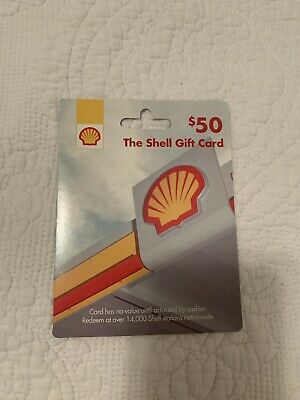 THE SHELL GIFT CARD 50 Value