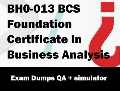 BCS Foundation Certificate in Business Analysis  practice Exam Questions Answers