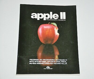 APPLE II Programmers Handbook 1982 First Edition Softcover