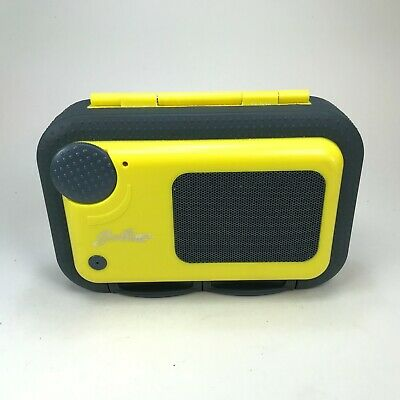 Good Times Yellow Water Proof Speaker Case WSC100 for Ipod Phone MP3