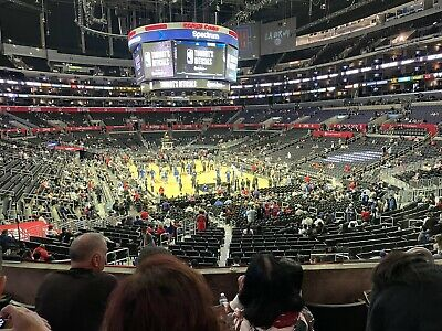 LA Clippers vs  Cleveland Cavaliers  Staples Center 10272021 Section 218 Row4