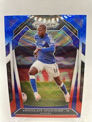 2020-21 Prizm EPL Premier League Soccer - Abdoulaye Doucoure 110 RED WHITE BLUE