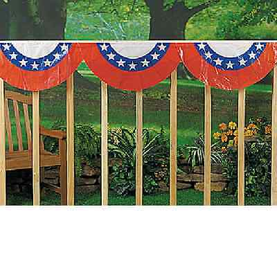 Patriotic Bunting 4th of July Decoration