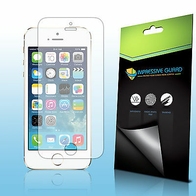 6Pcs Clear LCD Guard Shield Screen Protector Film for Apple iPhone 5 SE 5S 5C
