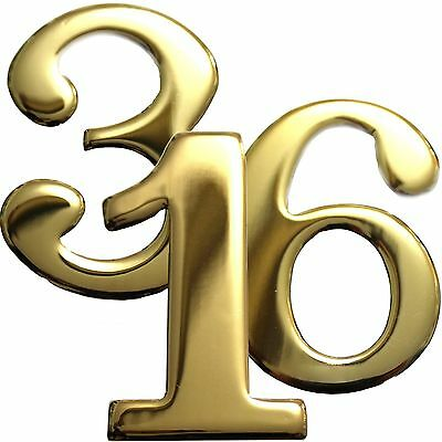 2 Brass Numbers Better Box Mailboxes Brass Mail Box Numbers 2 Inch Brass Number