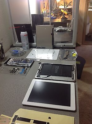 iPad 4th generation broken cracked digitizer glass screen repair service