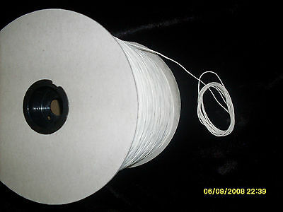 10 Yards Square Braided Cotton Candle Wick 60