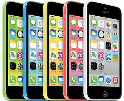 AT-T iPhone 5c 16GB Apple Factory Unlocked Smartphone Clean Esn POOR CONDITION