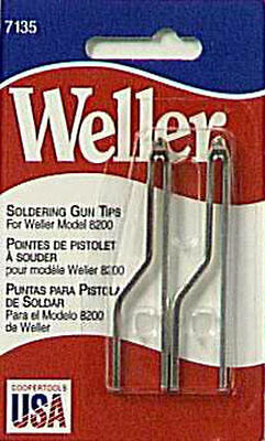 WELLER 7135W Standard Solder Tip Replacement for 8200 Soldering Gun