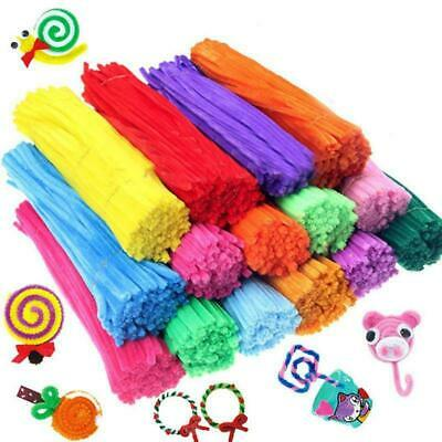20100pcs Chenille Stems Pipe Cleaners Kids Craft Educational Toys Twist Rods