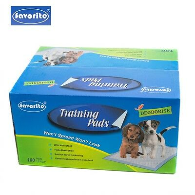 100 Packs Floor Protection Dog Puppy Housebreaking Training Pads 22 x 23