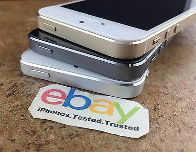 Factory Unlocked Apple iPhone 5S Gold Silver Space Gray ATT TMobile 1632GB64GB