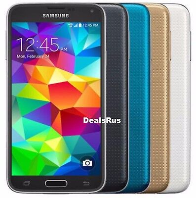 Samsung Galaxy S5 SM-G900V 16GB Verizon AT-T T-Mobile GSM UNLOCKED CellPhone