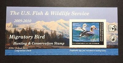 RW76A 2009 - 2010 - US Federal Duck Stamp - Post Office FRESH