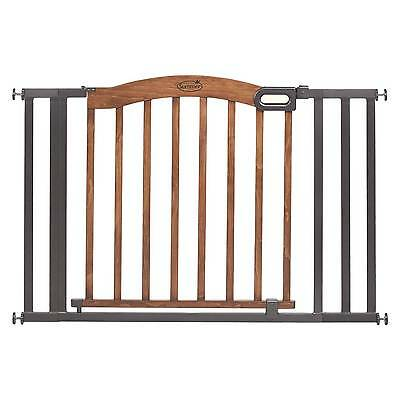 Summer Infant-174 Walk Thru Decorative Wood and Metal Expansion Baby Gate