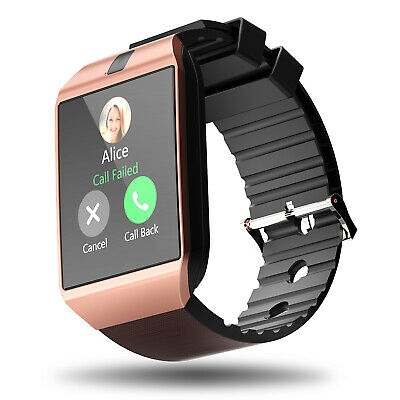 DZ09 Bluetooth Smart Watch Phone - Camera SIM Card For Android IOS Phones iPhone