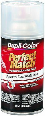 Duplicolor BCL0125 Perfect Match Clear Top Coat  8 oz- Aerosol Spray Paint