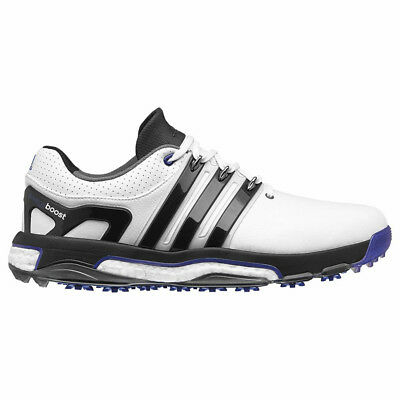 New 2016 Adidas Mens ASYM ENERGY BOOST RH Golf Shoes White  Black - Any Size