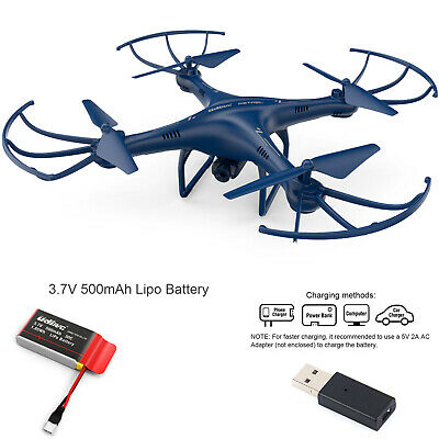 Petrel U42W FPV Drone RC Quadcopter wHD Camera Live Video One Key Off  Landing