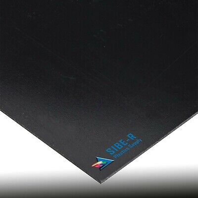BLACK KYDEX T PLASTIC SHEET 0-028 VACUUM FORMING YOU PICK SIZE