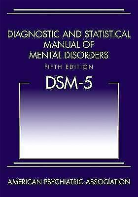 DSM-5- Diagnostic and Statistical Manual of Mental Disorders- by APA BRAND NEW