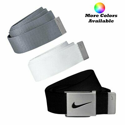 Nike Golf Mens 3 in 1 Web Pack Belts One Size Fits Most - Select Colors