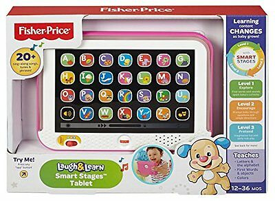 Baby Tablet Educational Toys Girls Toy For 1 2 Year Olds Toddler Learning Pink