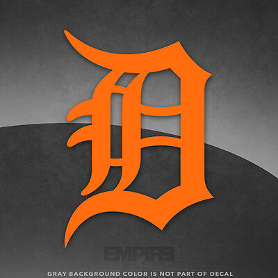 Detroit Tigers Logo Vinyl Decal Sticker - 4 and Larger - 30- colors available