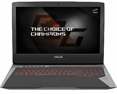 New Asus G752VS 17-3 Laptop i7-6820HK 64GB 1TB 512GB SSD GTX1070 8GB W10 Pro