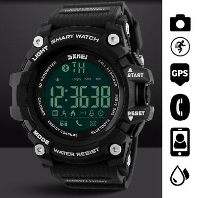 Waterproof Sport Smart Watch Phone Mate For Android IOS iPhone Samsung