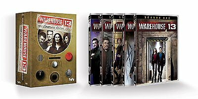 Warehouse 13 Complete Series DVD 2014 16-Disc Set