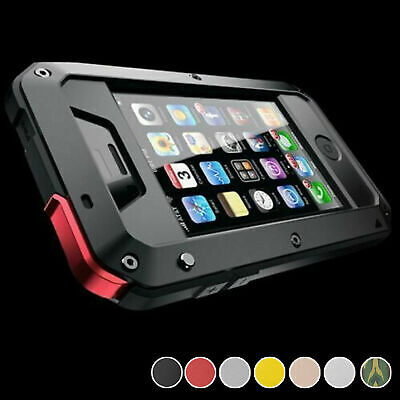 Heavy Duty Gorilla Metal Case Shockproof iPhone 12 11 SE XR XS 8 7 6 Pro Max +
