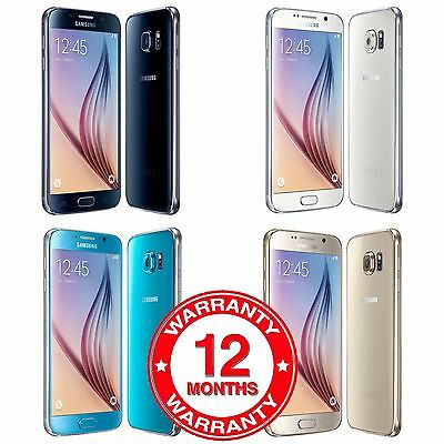 Samsung Galaxy S6 SM-G920F - 32GB - Unlocked Smartphone Various Colours