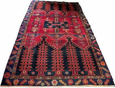 1519 Antique Koliyei Persian Rug Hand Knotted  48 x 96