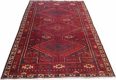 1509 Antique Lur Persian Rug Hand Knotted  45 x 74