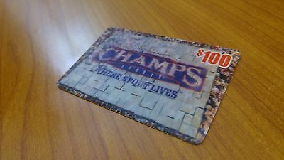 100 Champs Sports Gift Card