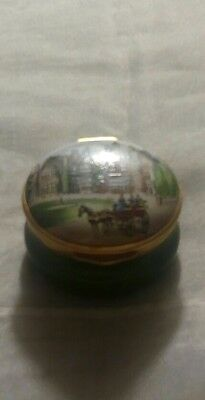 Vintage Small Porcelain Container Made In England By Crummles and Co-
