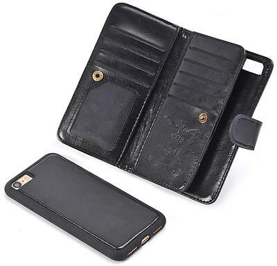 New PU Leather Phone Case Cover Wallet Card Holder Pouch Flip for iPhone 7