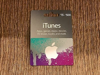 30 Apple US itunes gift card