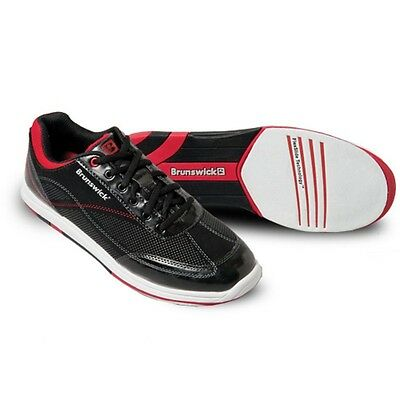 Mens Brunswick TITAN Bowling Shoes NEW  Color BlackRed Sizes 7 - 9 12