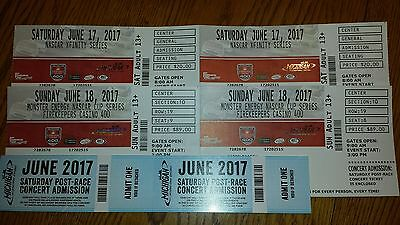 2 or 4 Nascar Firekeepers 400 tickets campsites