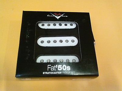 New Fender Custom Shop Fat 50s Stratocaster Strat Electric Guitar Pickup Set