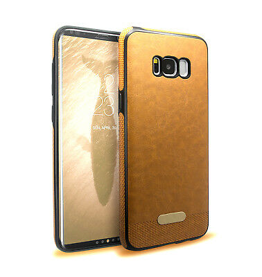 For Samsung Galaxy S8 Case S8 Plus Case PU Leather Rubber Shockproof Cover Soft