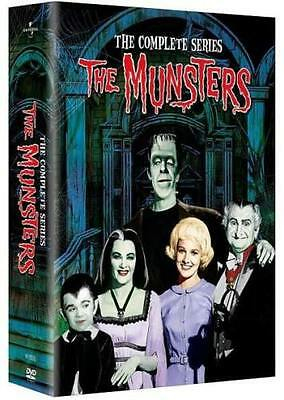 The Munsters - The Complete Series 70 Episodes DVD 2016 12-Disc Set NEW