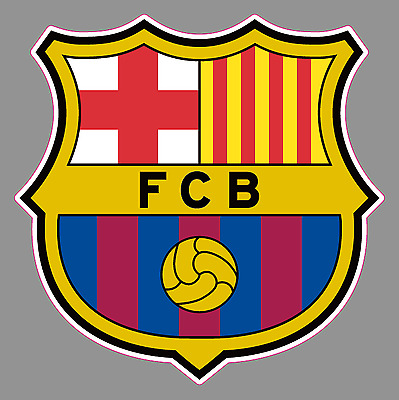 FC Barcelona Logo 6 Vinyl Decal Bumper Window Sticker - Football Soccer