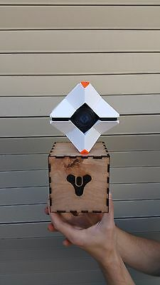 Destiny Ghost Kit - 3D Printed With Custom Laser Cut Box Magnets - LED